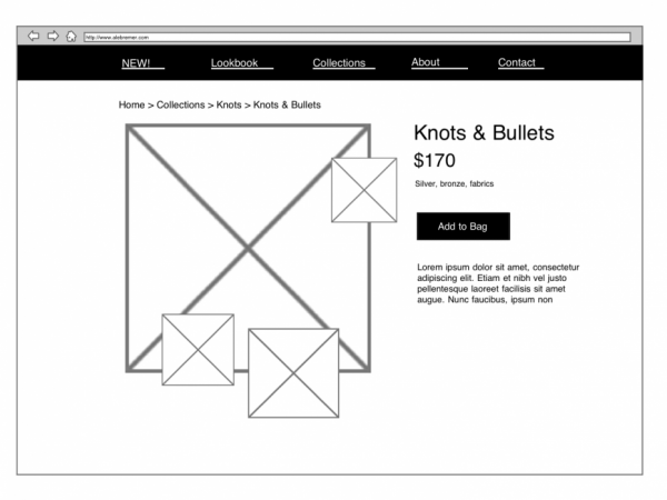 Jeweler Details Page