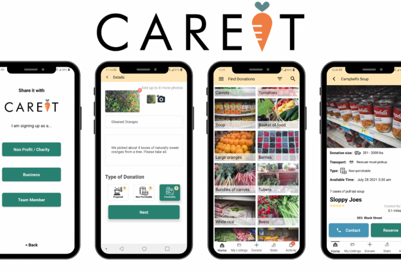 A New App Tackles Hunger with Business Waste