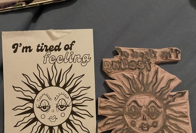 Design and Stamp Carving