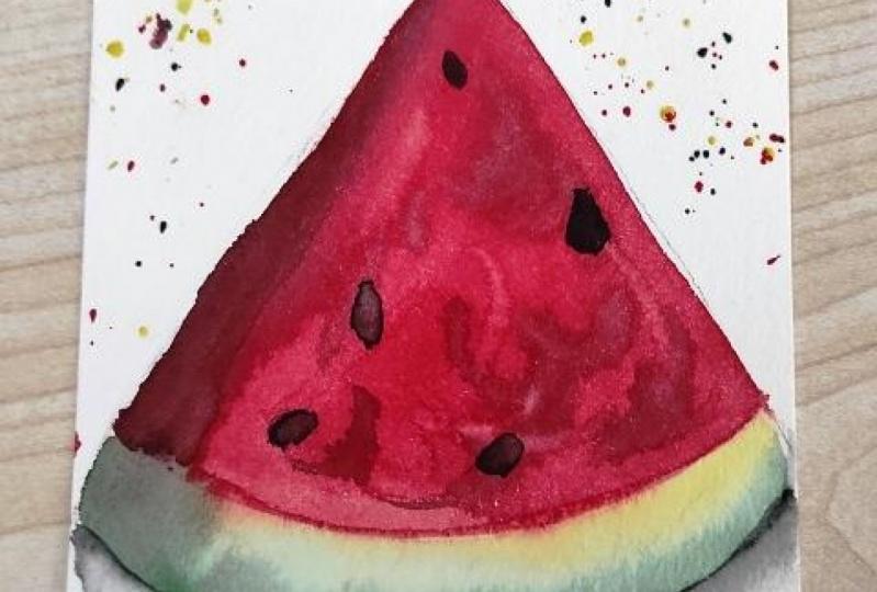 Tropical Fruit Series, Watermelon