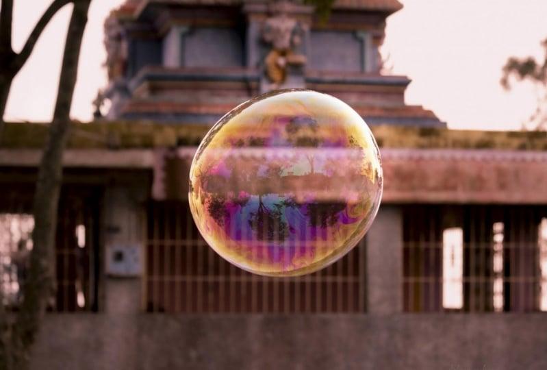 Bubble capture