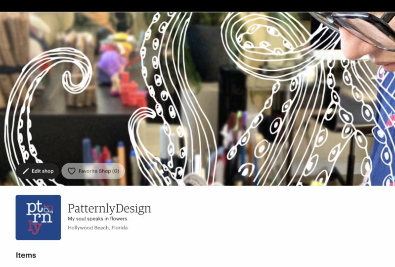 Patternly Design Shop - Etsy Shop Launched