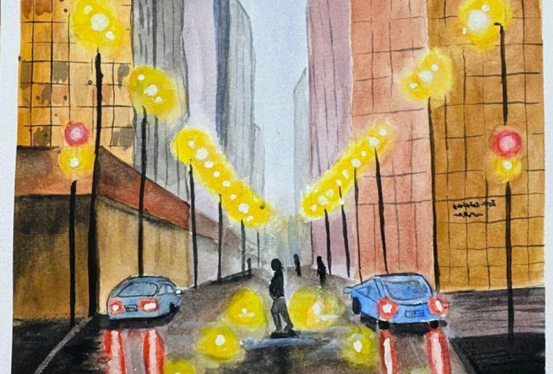 Perspective - Painting Cityscapes and Urban Landscapes with Watercolours
