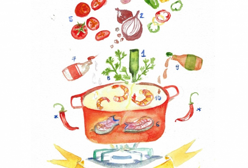 My ilustrated recipe