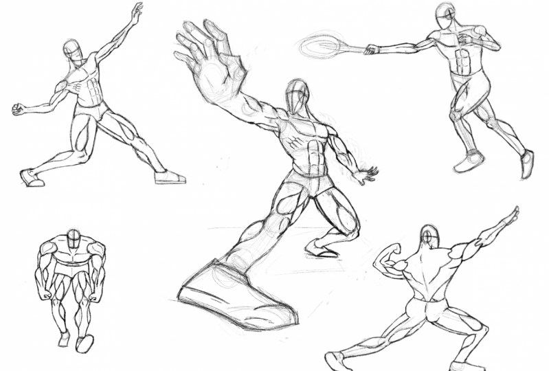 Any tips? Also a good tool for poses is ArtPose on iOS.