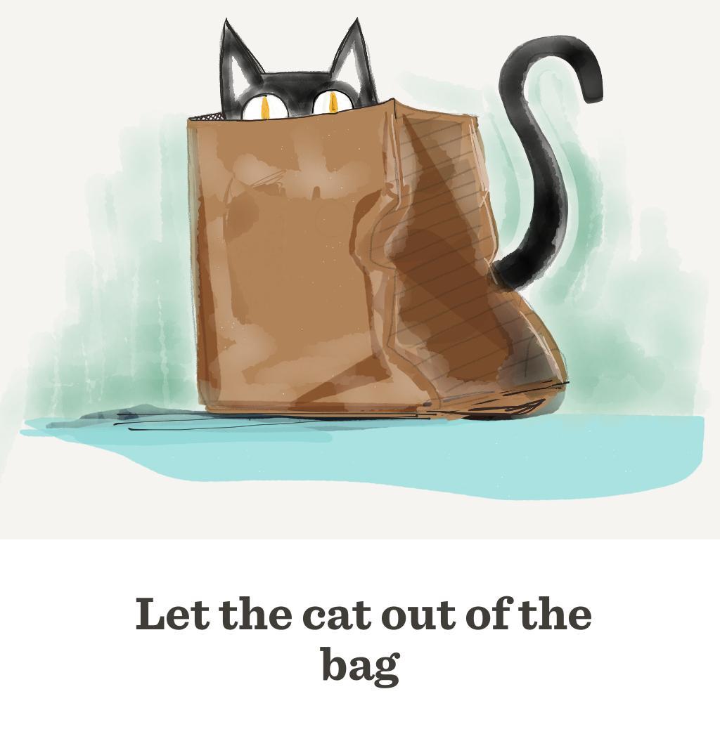 Expressing a cat'sanal sacks