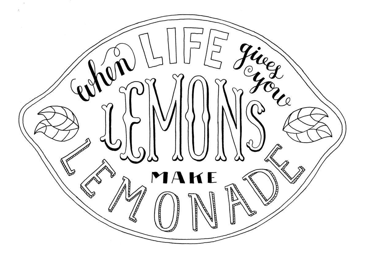when life gives you lemons make lemonade skillshare projects