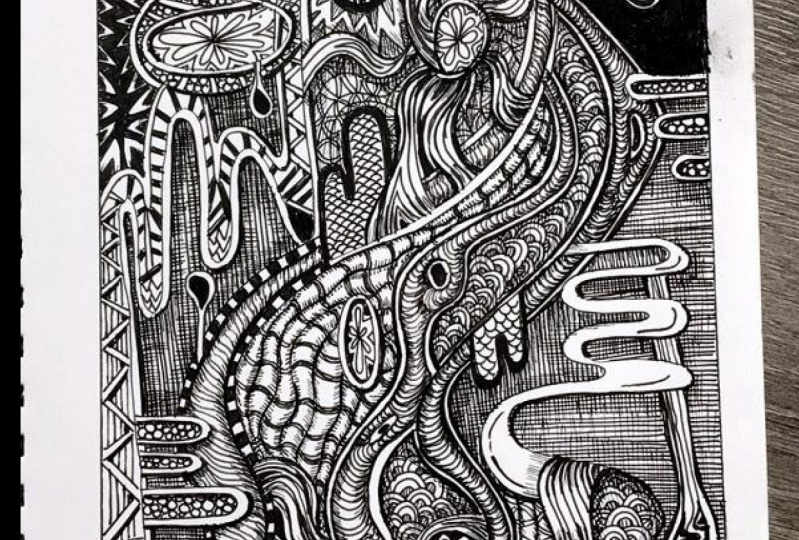My abstract drawing adventure