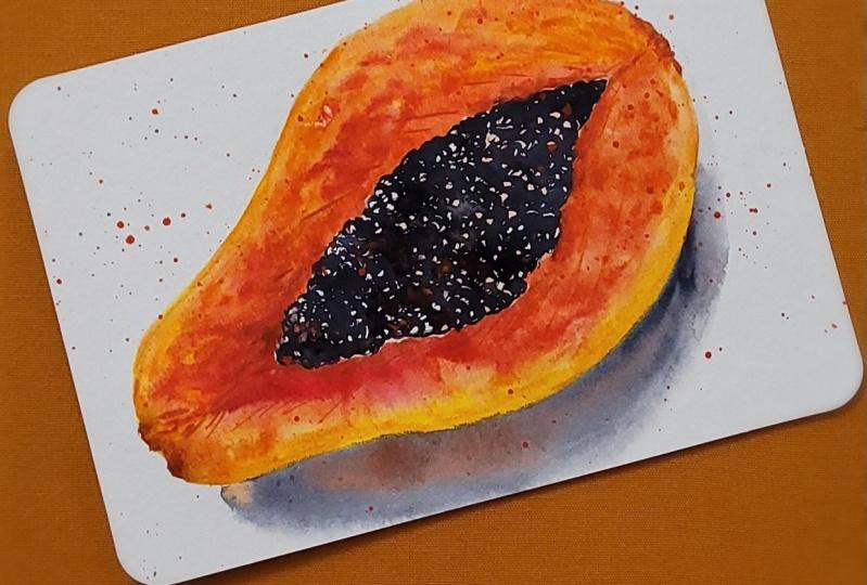 Tropical fruit series-Papaya
