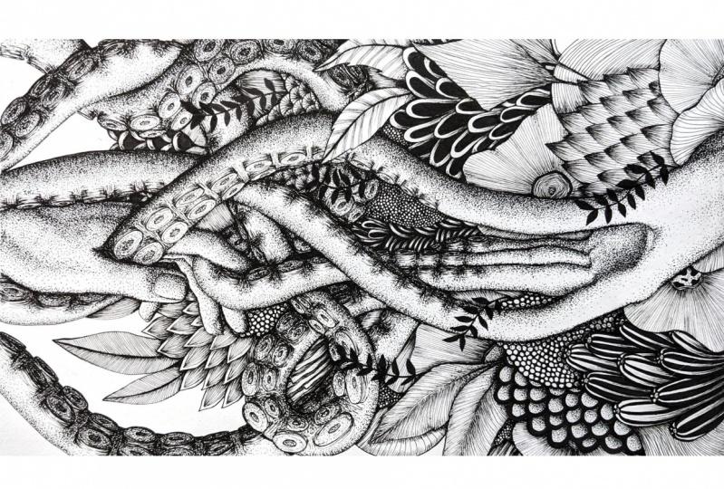 Human-octopus