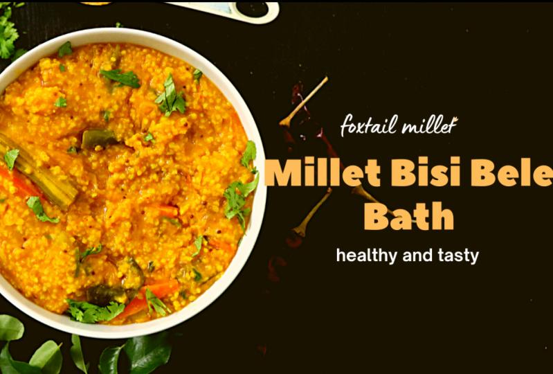 Millet Bisi Belle Bath Recipe (Indian)