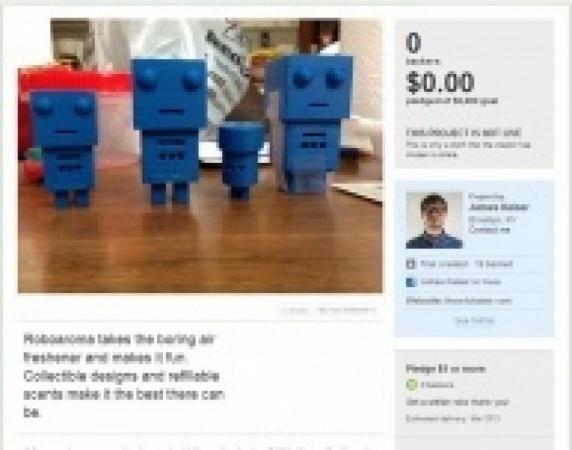 Roboaroma - Make air fresheners fun