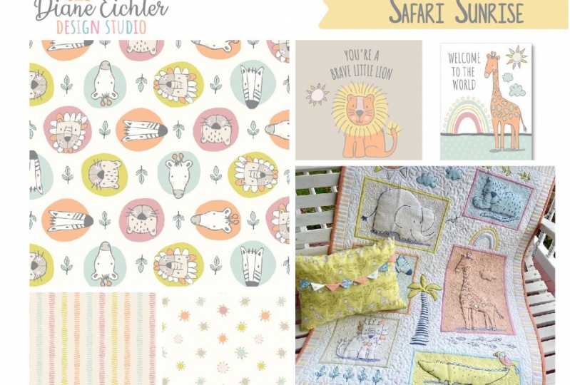 Diane Eichler- Safari Sunrise portfolio page