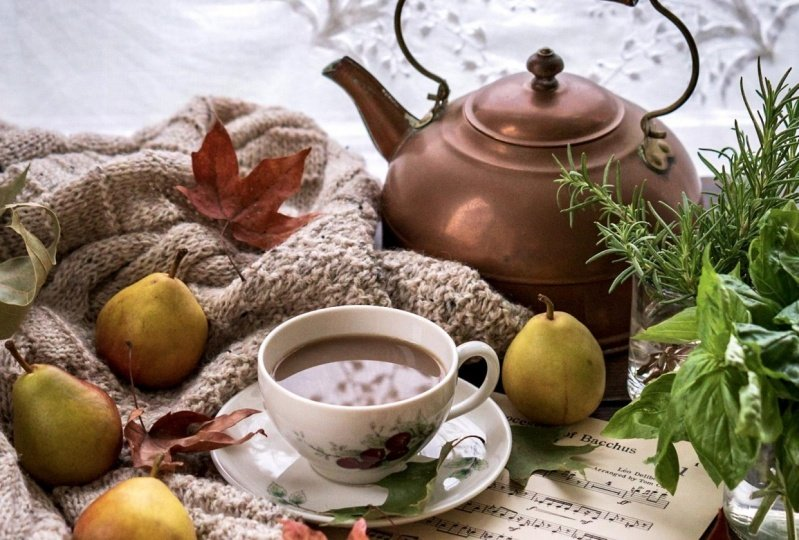 Cozy Coffee and Light & Airy Tea