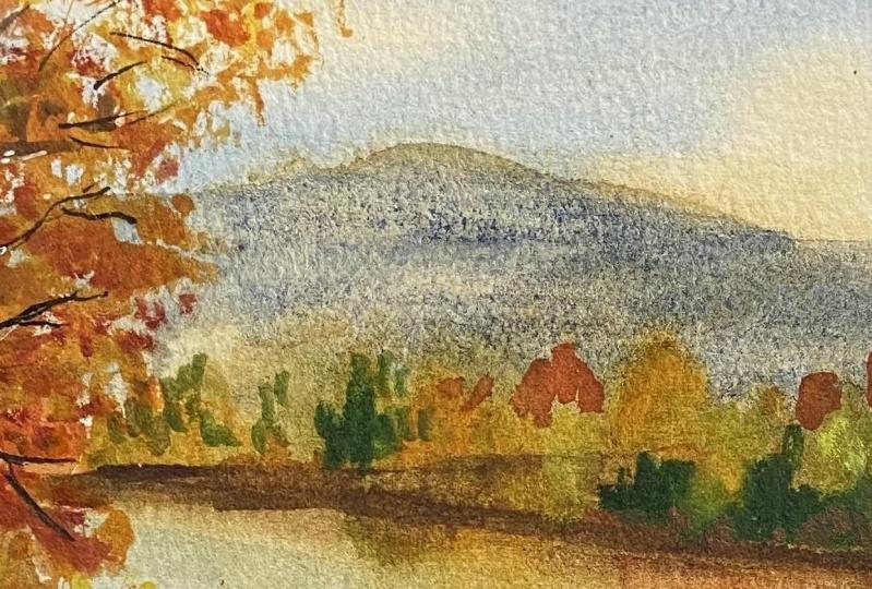 Autumn landscape class