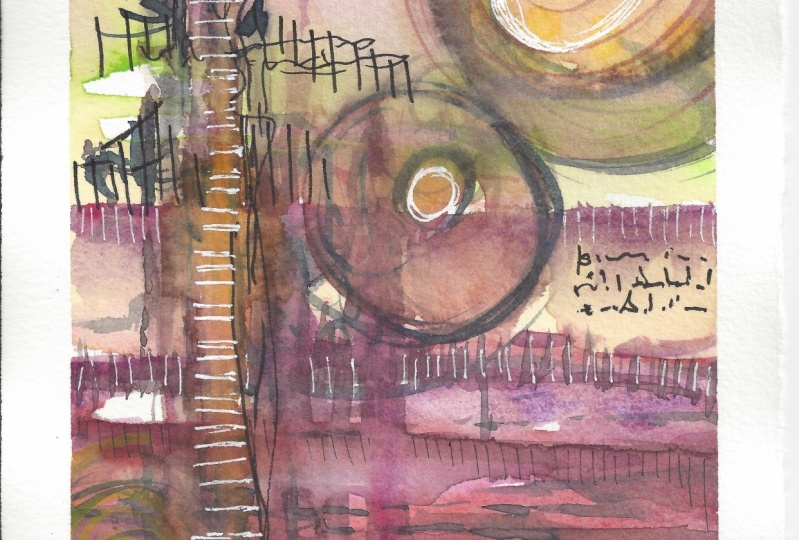 Watercolor Abstract Samplers