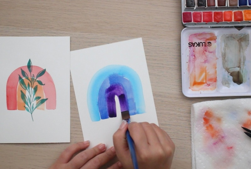 Daily Mindfulness Practice: 10 Days of Creativity & Watercolor