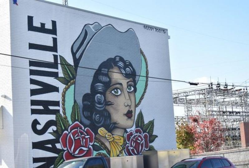 Mural Art - Nashville