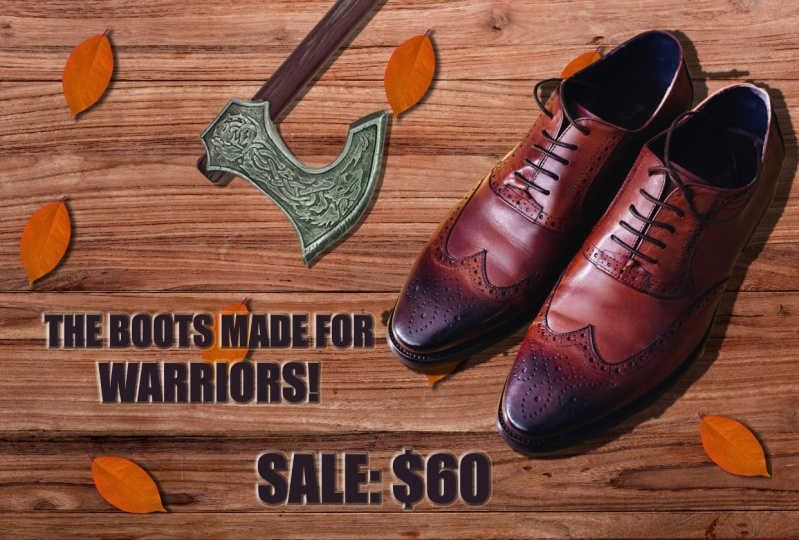 The specials boots for warriors