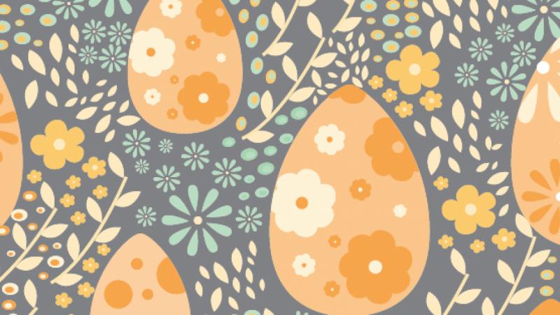 Spring / Easter Egg Pattern by Brittany Barnhart - Skillshare
