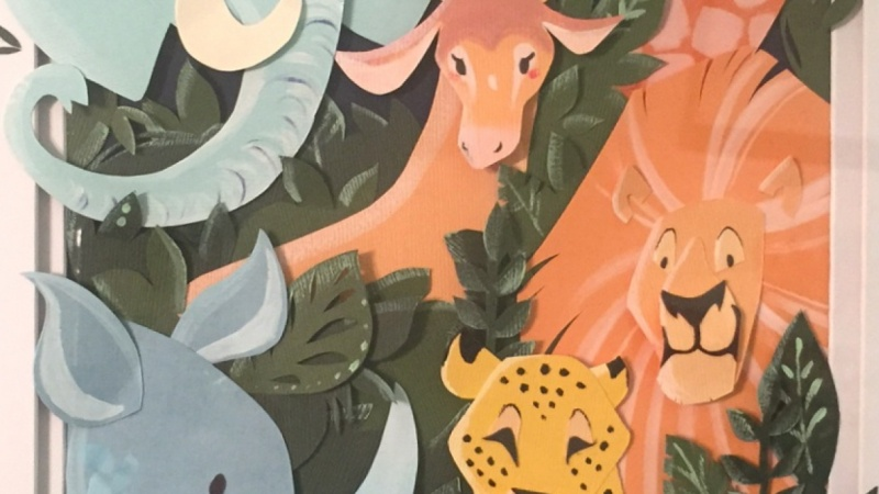 Jungle Animals Illustration