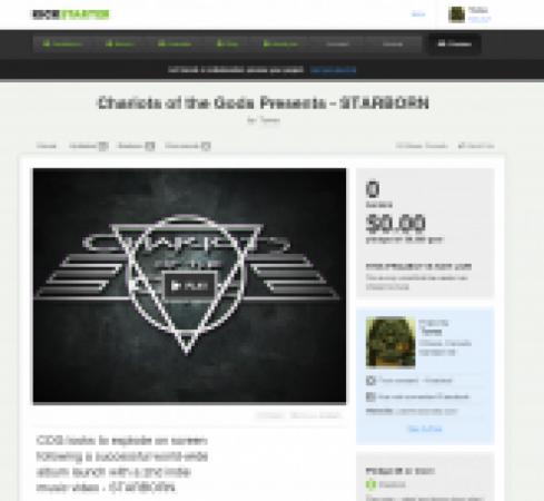 STARBORN - indie heavy metal band music video
