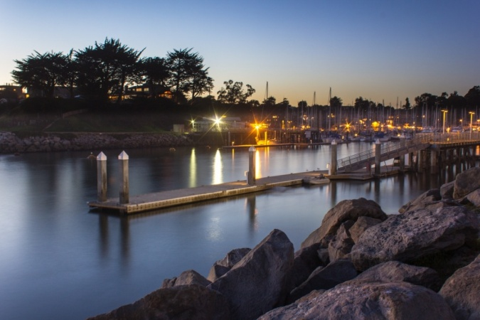Natural Bridges, Santa Cruz, California.