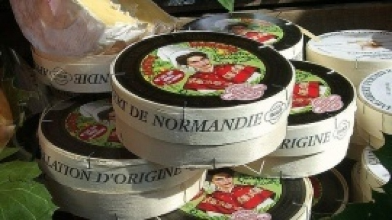 Cheese Map of Normandy