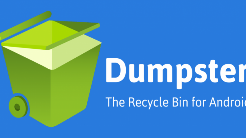 Dumpster the first-ever Recycle Bin for Android
