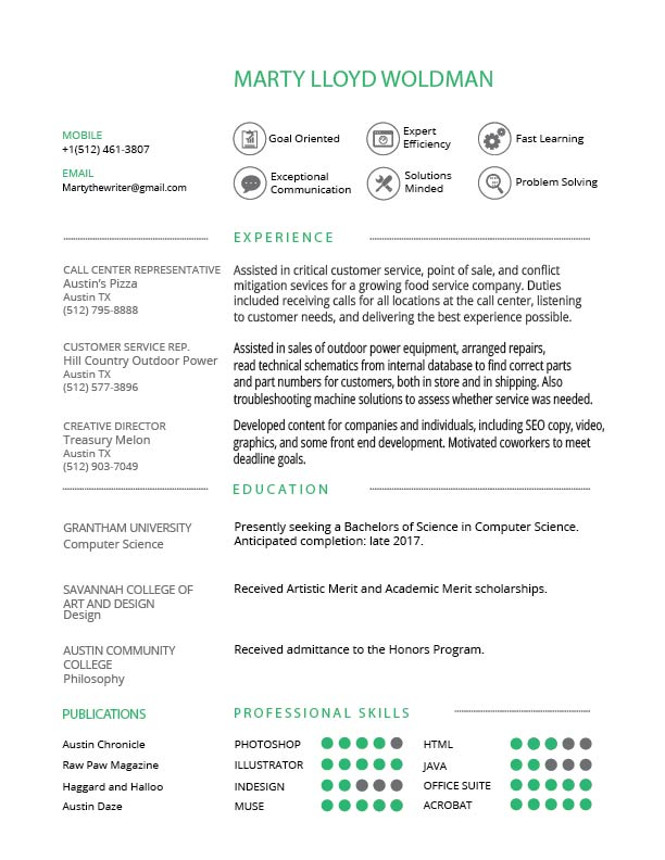 Resume Sample For Construction Best Work