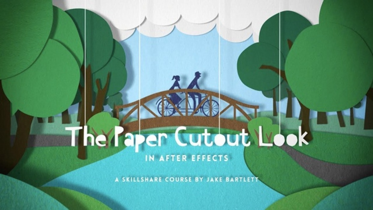 The Paper Cutout Look in After Effects | Jake Bartlett