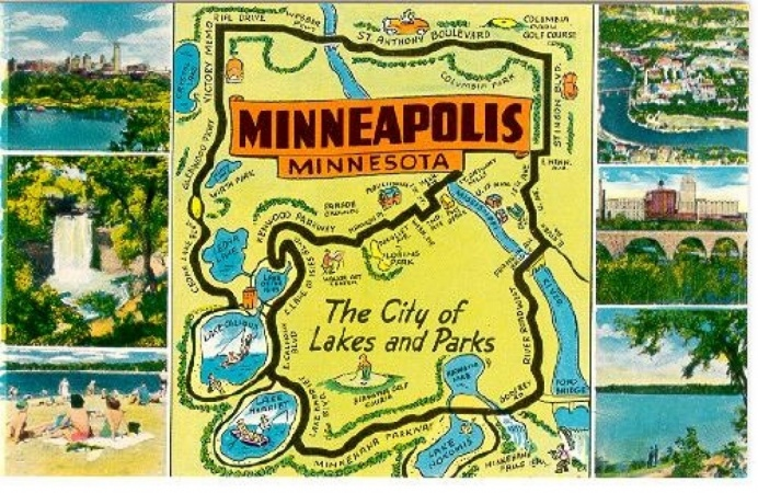 Minneapolis (City of Lakes/Mill City)