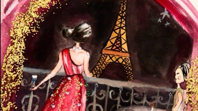 Dreamy Night in Paris