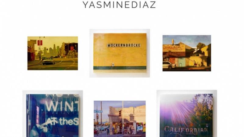 Yasmine Diaz Art (Online Shop Design)
