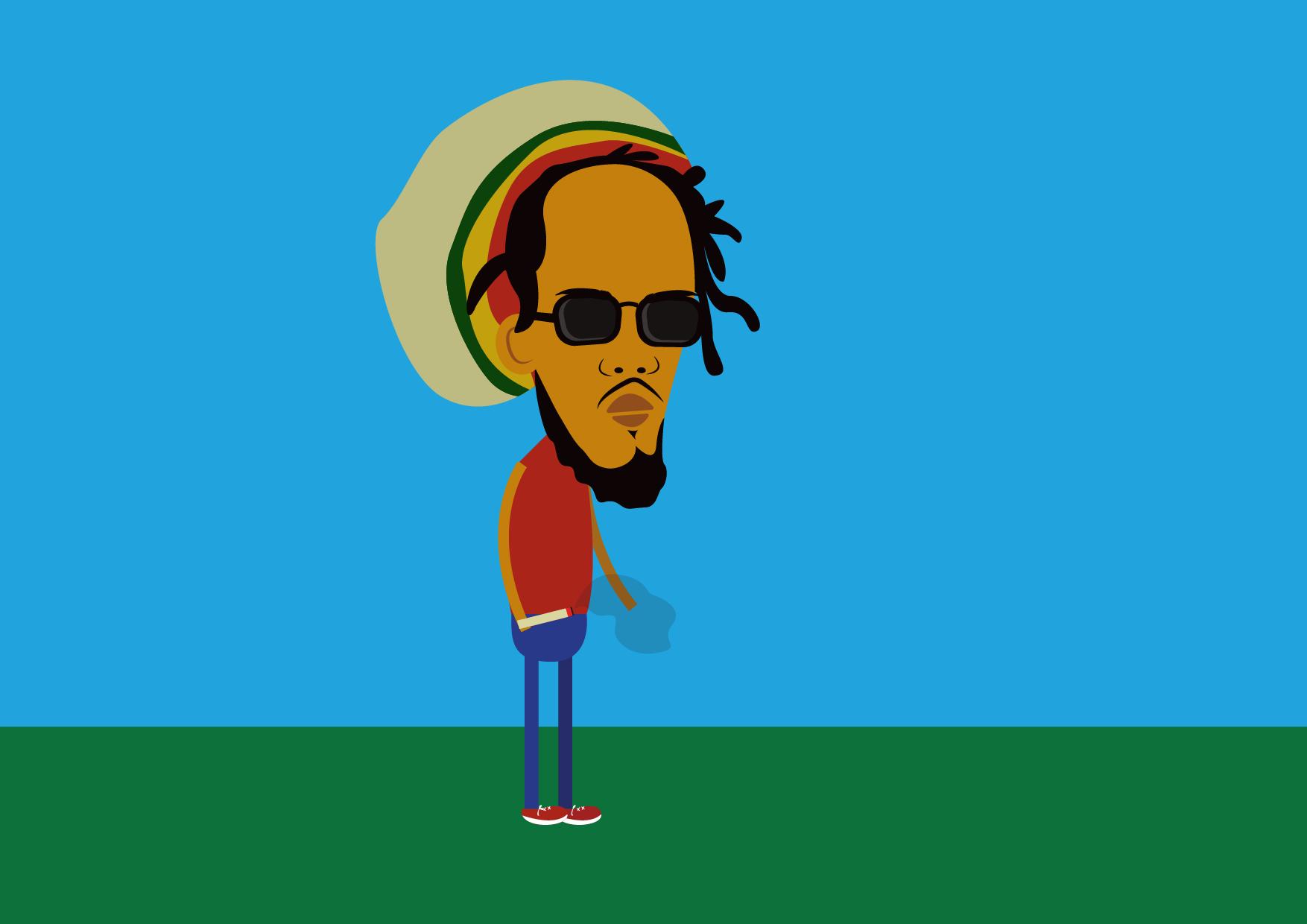 Walking Bob Marley Skillshare Projects