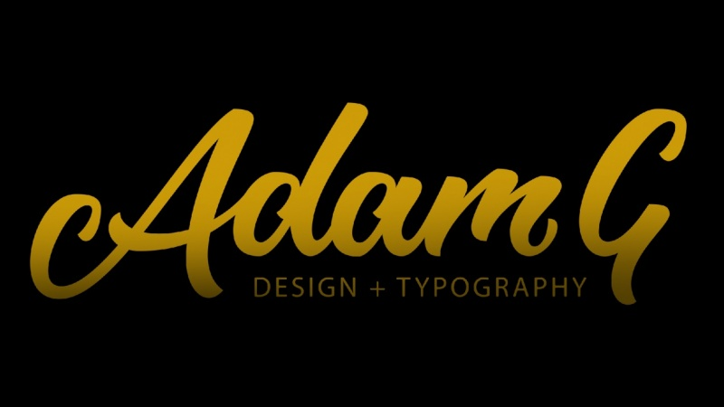 Adam G Typography And Design