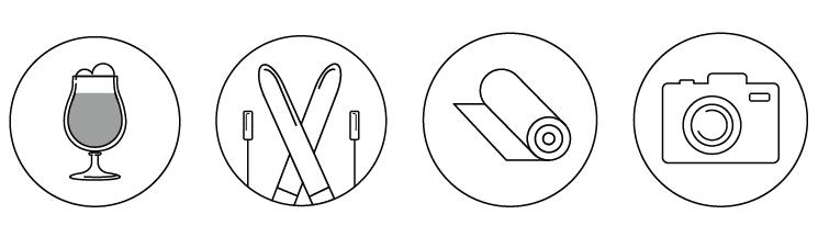 Hobby Icons Skillshare Projects