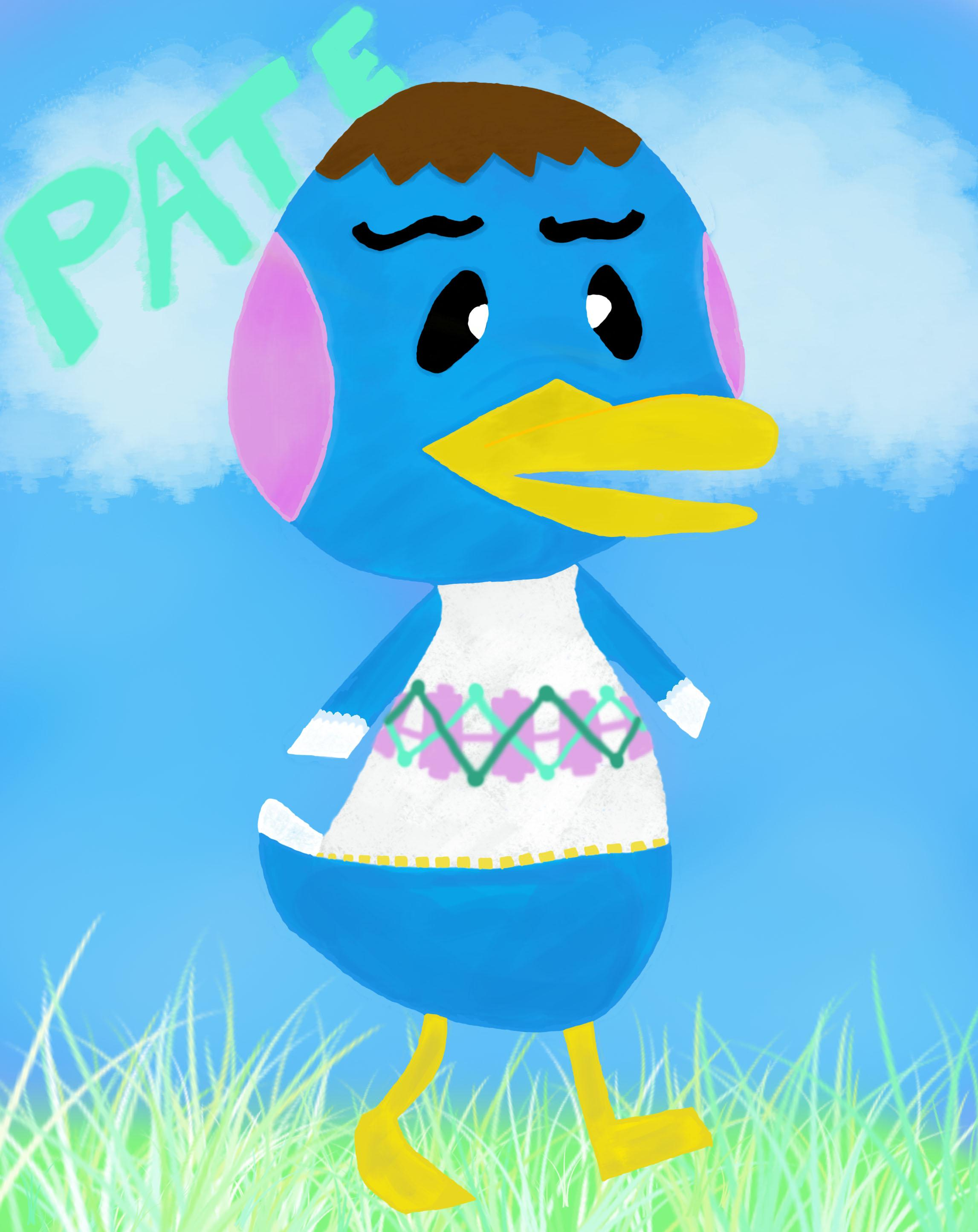 Animal Crossing Villager Pate The Peppy Duck Skillshare Projects