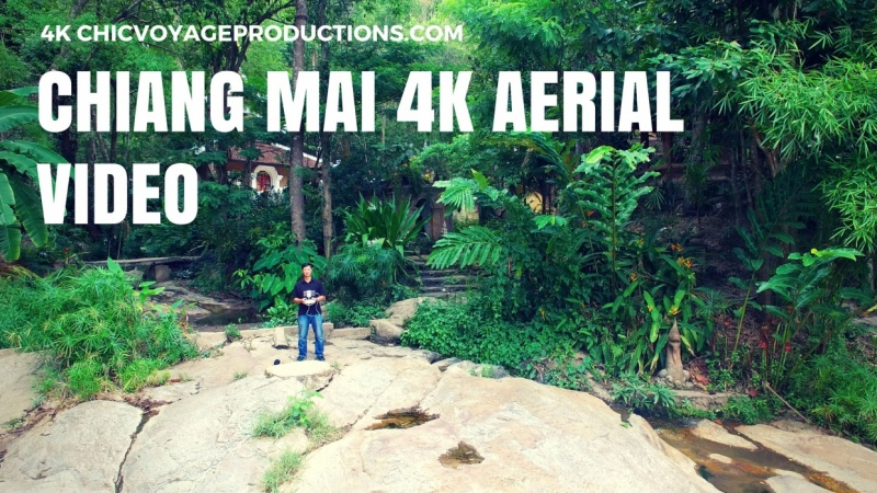 My 4k Chiang Mai aerial video