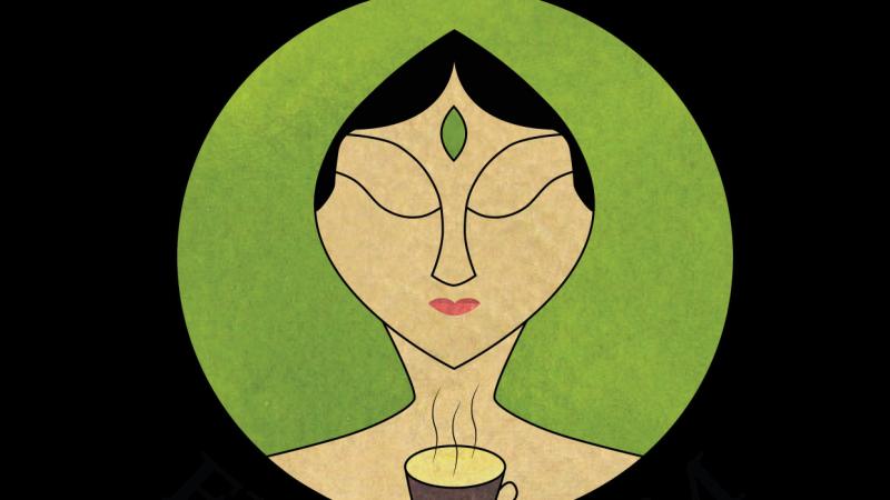Tea Emporium logo design