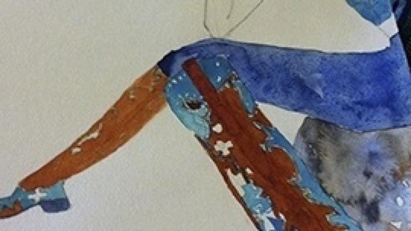 Watercolor Final--Wild Wild West