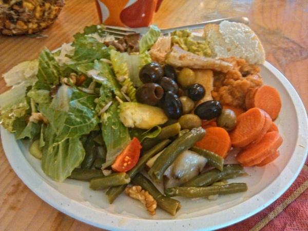 Thanksgiving dinner-all natural