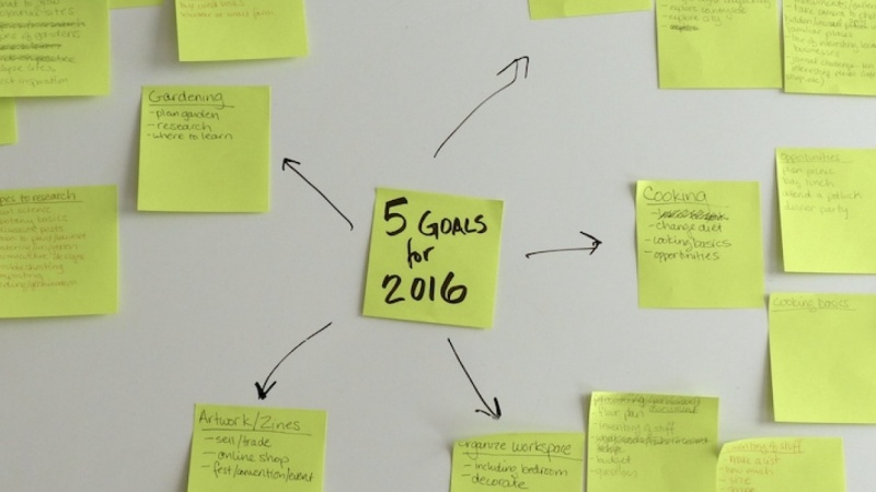 Five goals for 2016