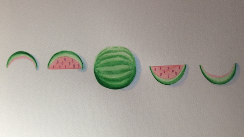 Watermelon Moon Phase