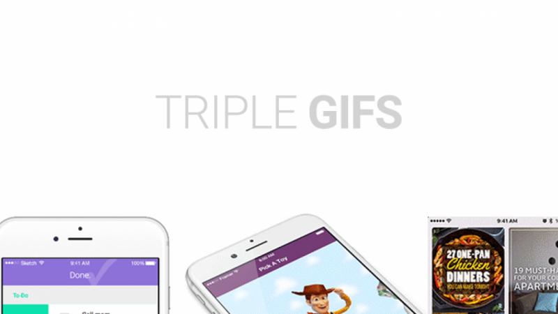 Triple Gifs!