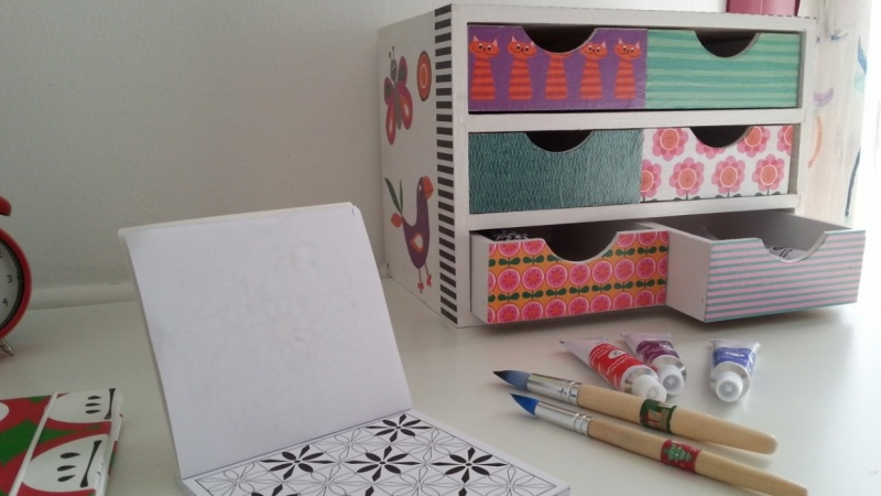 Little Box with Little Drawers