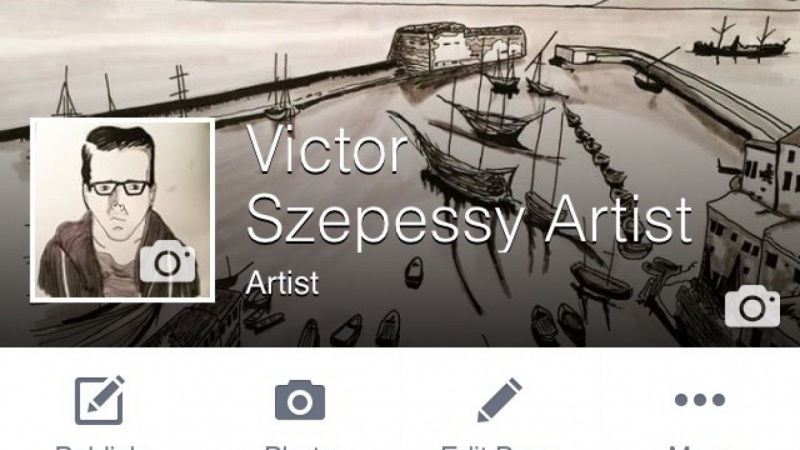 Victor Szepessy Artist Page - 3 Improvements