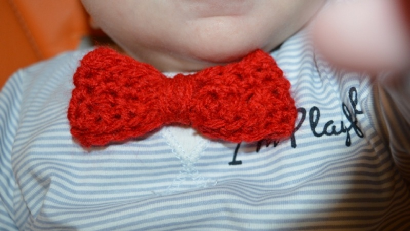A bowtie for my little boy!