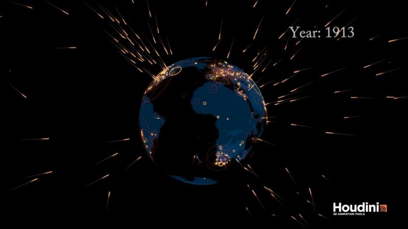 Playing with meteor strikes dataset
