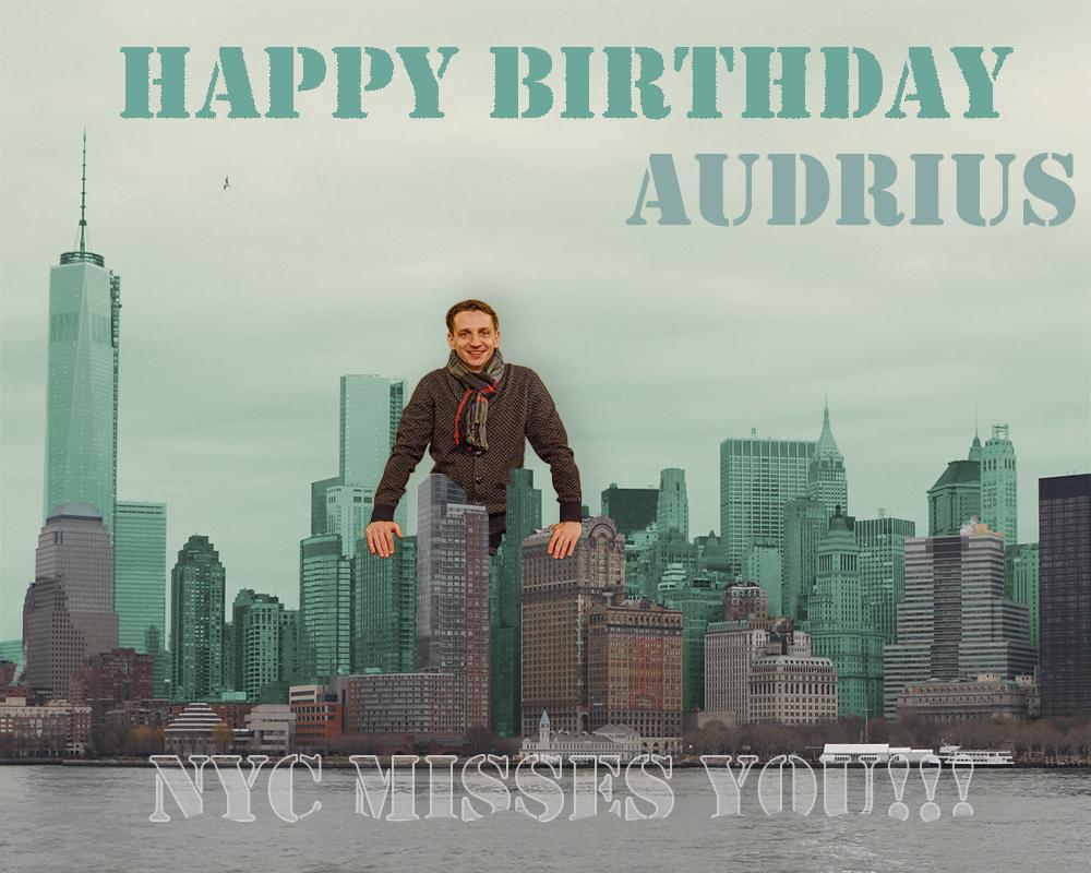 NYC birthday card – New York Birthday Card